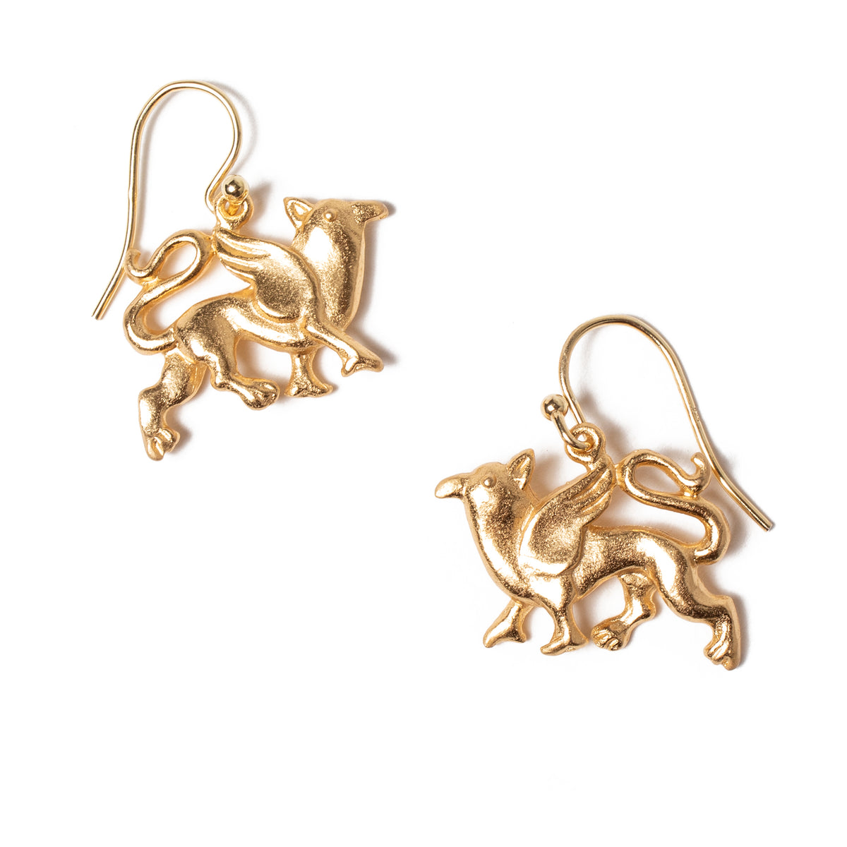 Griffin Charm Earrings | Getty Store