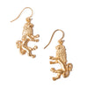 Lion Charm Earrings