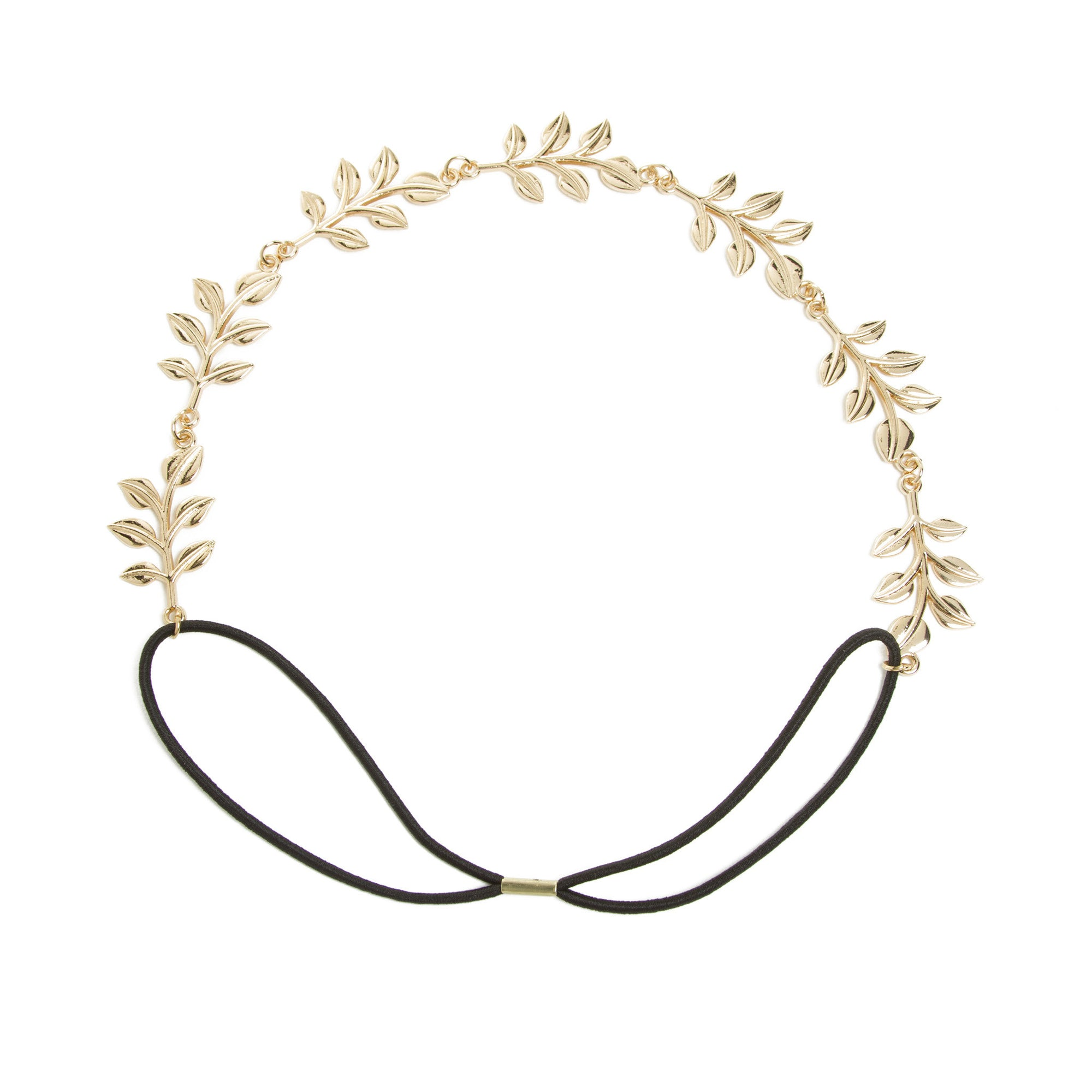 Elastic Myrtle Leaf Headband | Getty Store