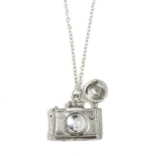 Old-Fashioned Camera Necklace
