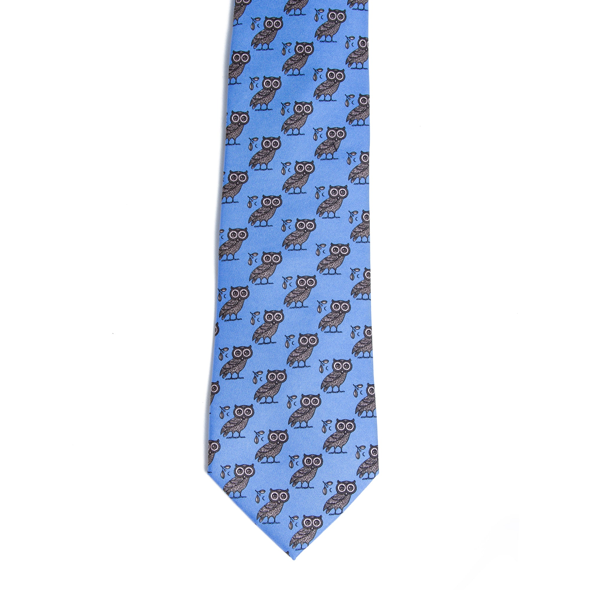 Greek Owl Tie | Getty Store