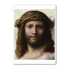 "Correggio - <i>Head of Christ</i> - 5"" x 7"" Note Card"
