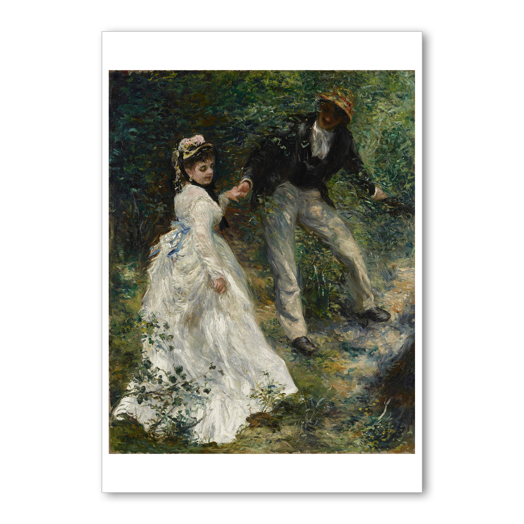 "Renior - <i>La Promenade</i> - 5"" x 7"" Note Card"