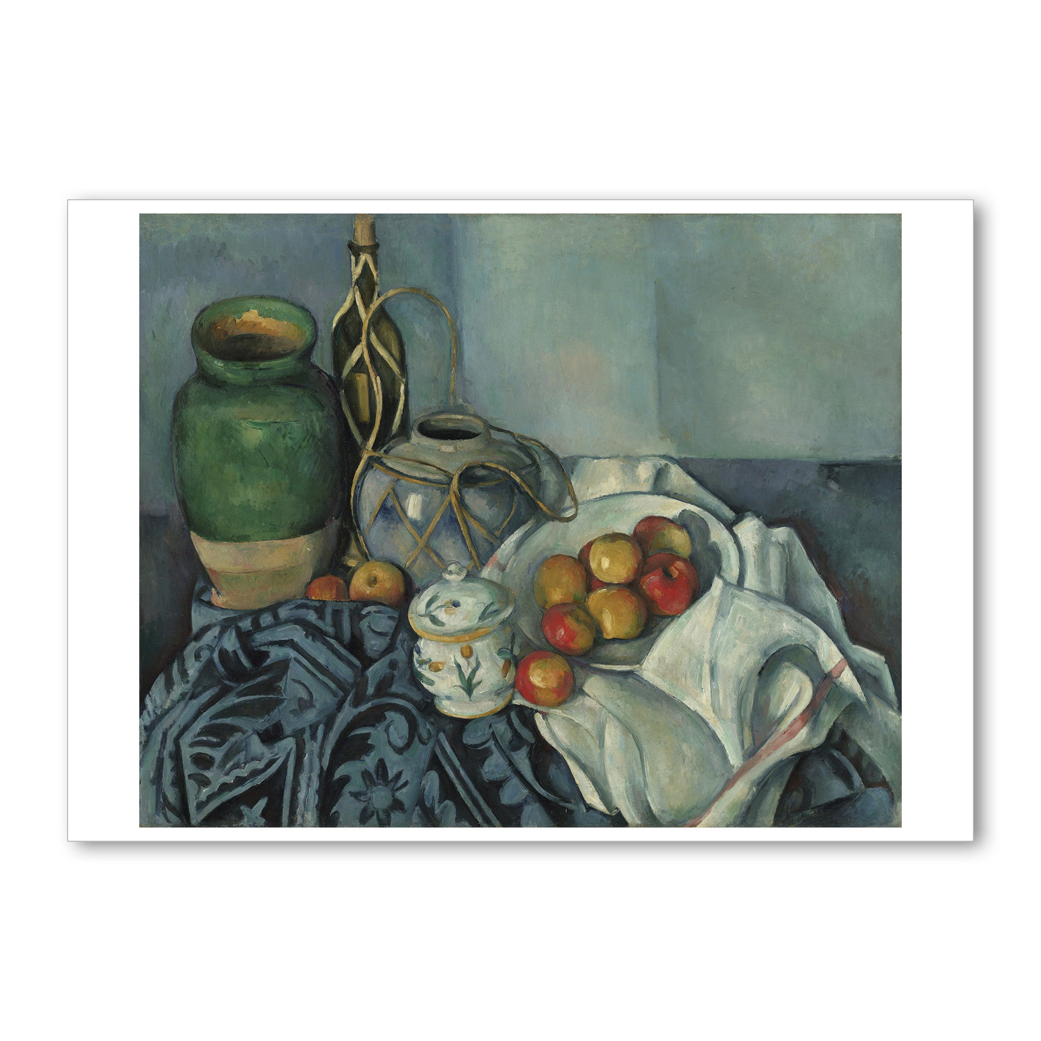 cezanne still life with apples 5 x 7 note card the getty store