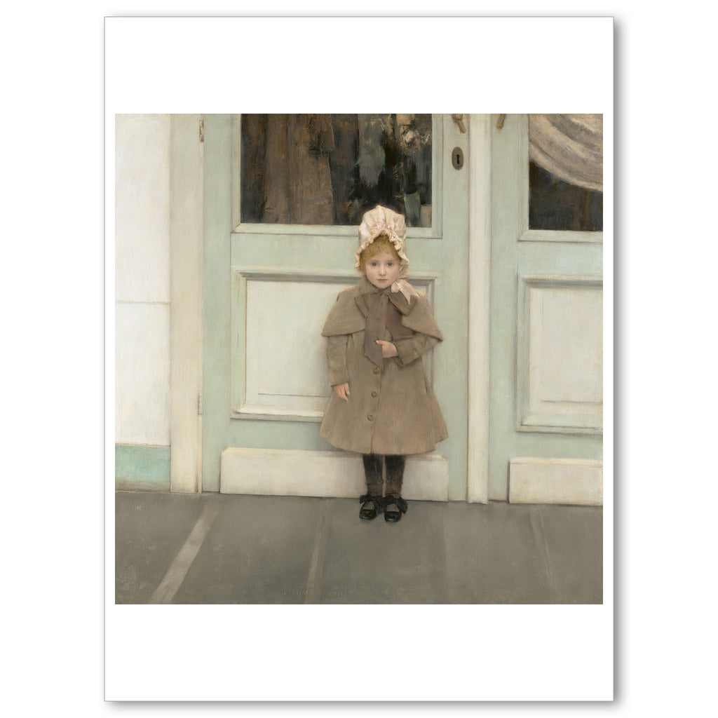 "Khnopff - <i>Jeanne Kefer</i> - 5"" x 7"" Note Card"