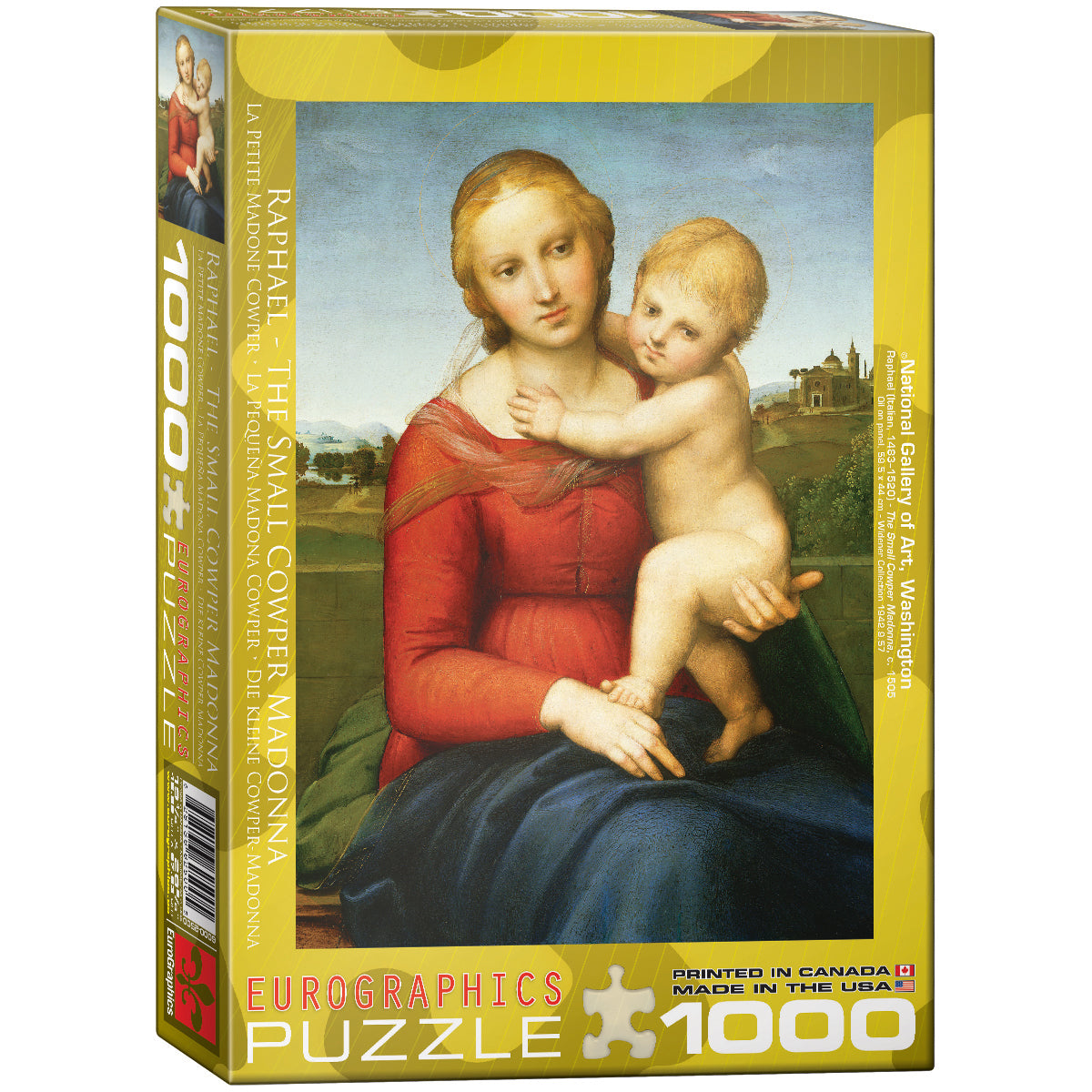 The Small Cowper Madonna by Raphael Puzzle