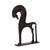 "Ancient Greek Horse (6"" H) - Cast Brass Reproduction 