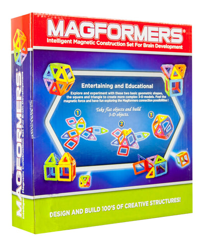 Magformers Magnetic Building Set - 14 Pieces