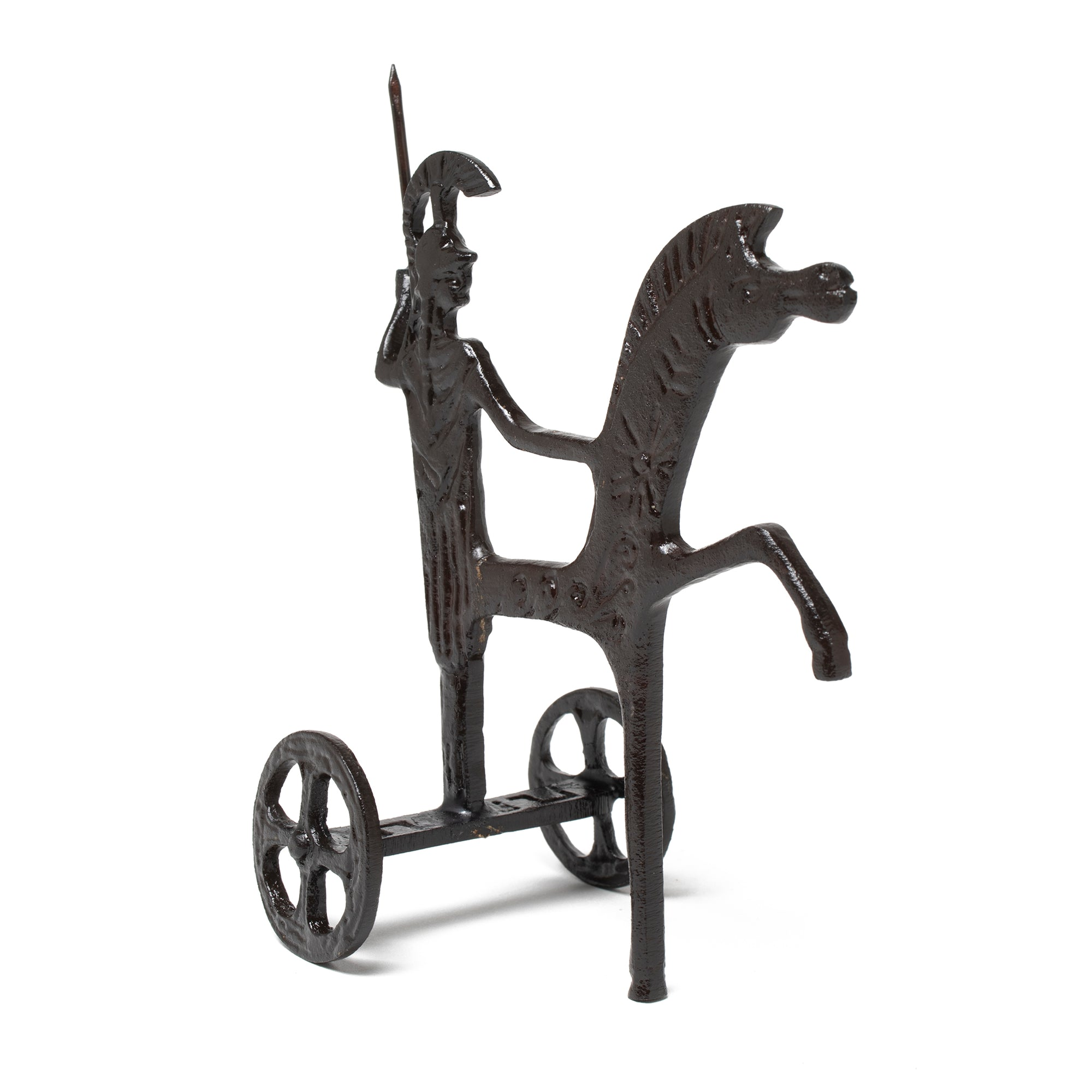 Greek Chariot Sculpture - Cast Brass Reproduction | Getty Store