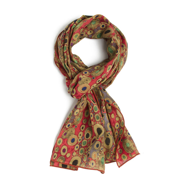 Klimt Silk Scarf - Hope II