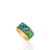 Van Gogh Irises Ring