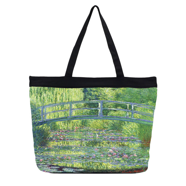 Tote Bag - Monet's <i>Japanese Bridge</i>