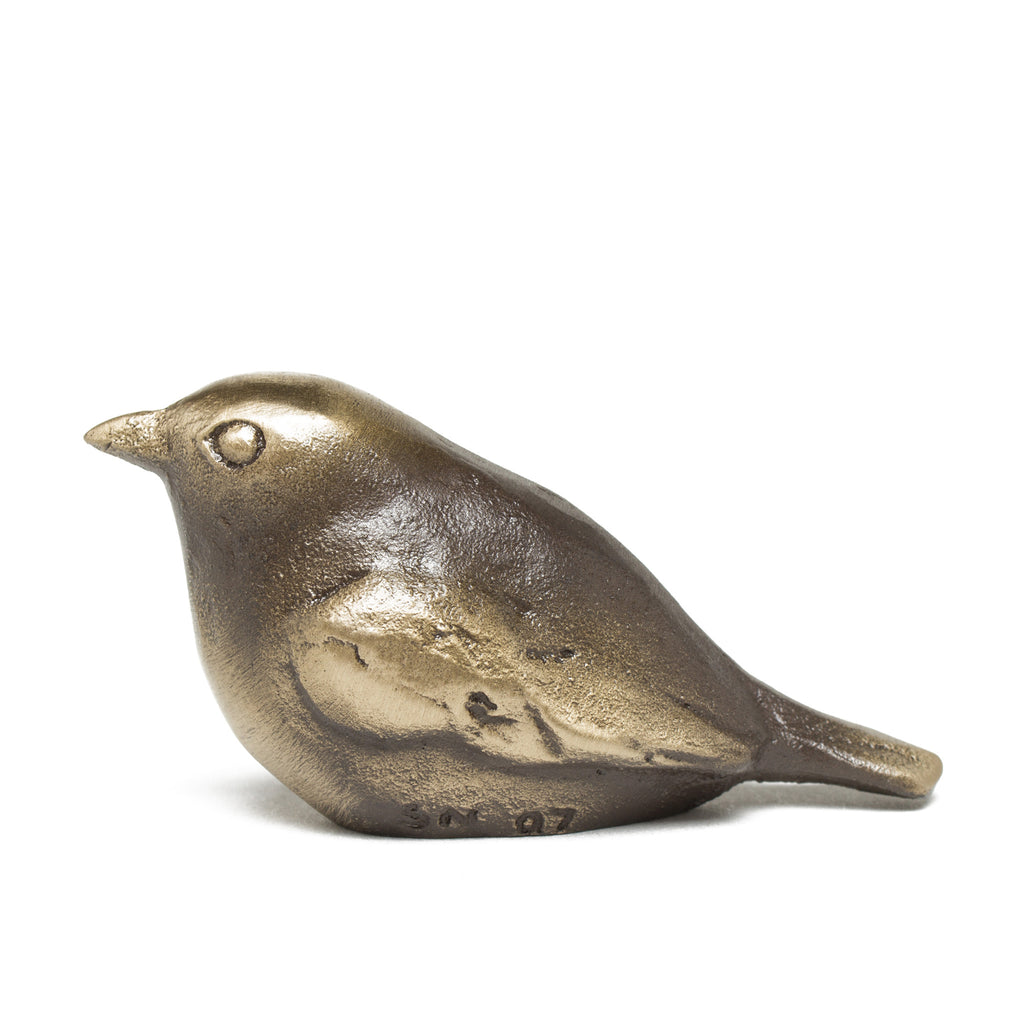 Plump Little Bronze Bird