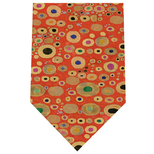 Klimt Silk Tie- Hope II in Red | Getty Store