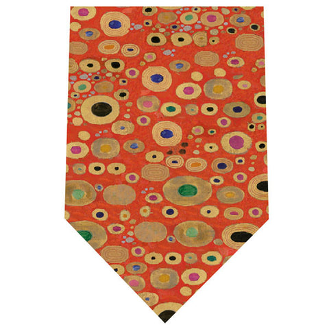 Klimt Silk Tie - Hope II in Red