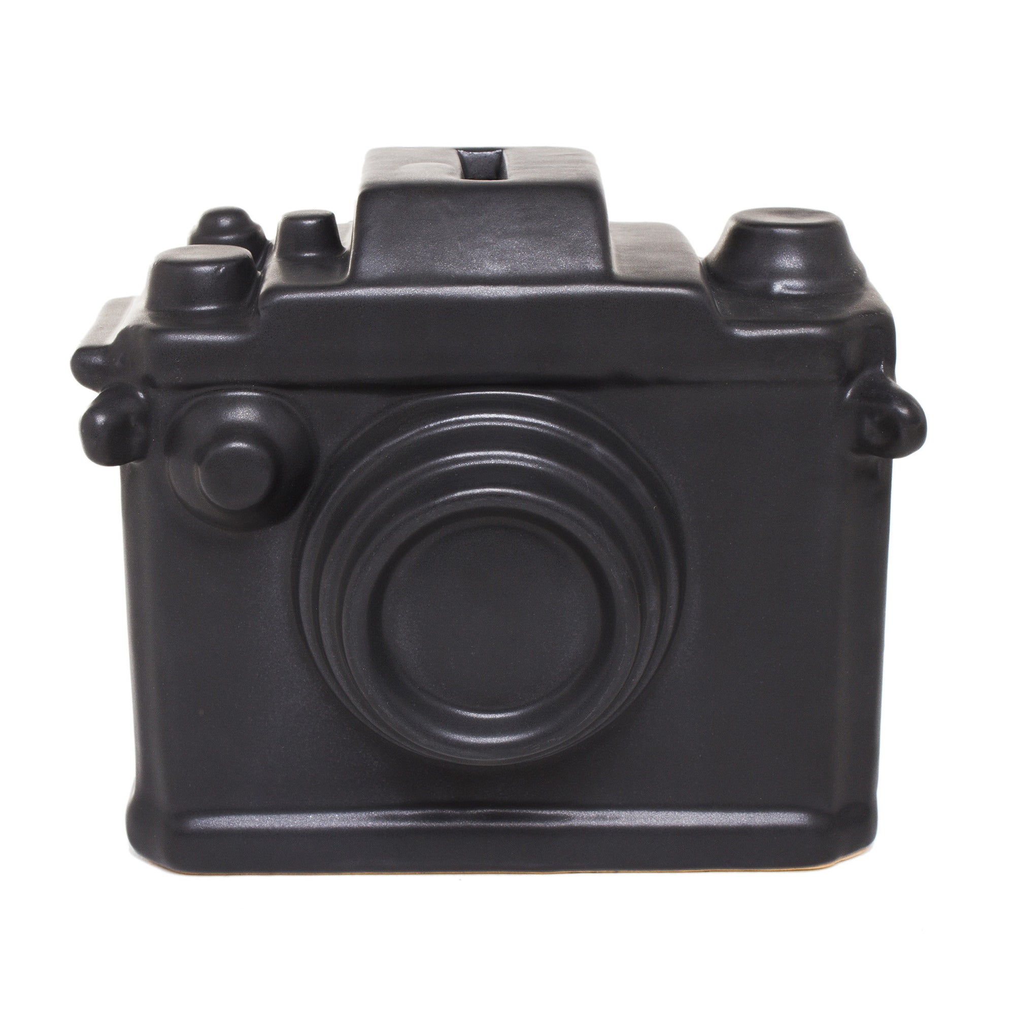 Ceramic Camera Bank - Black