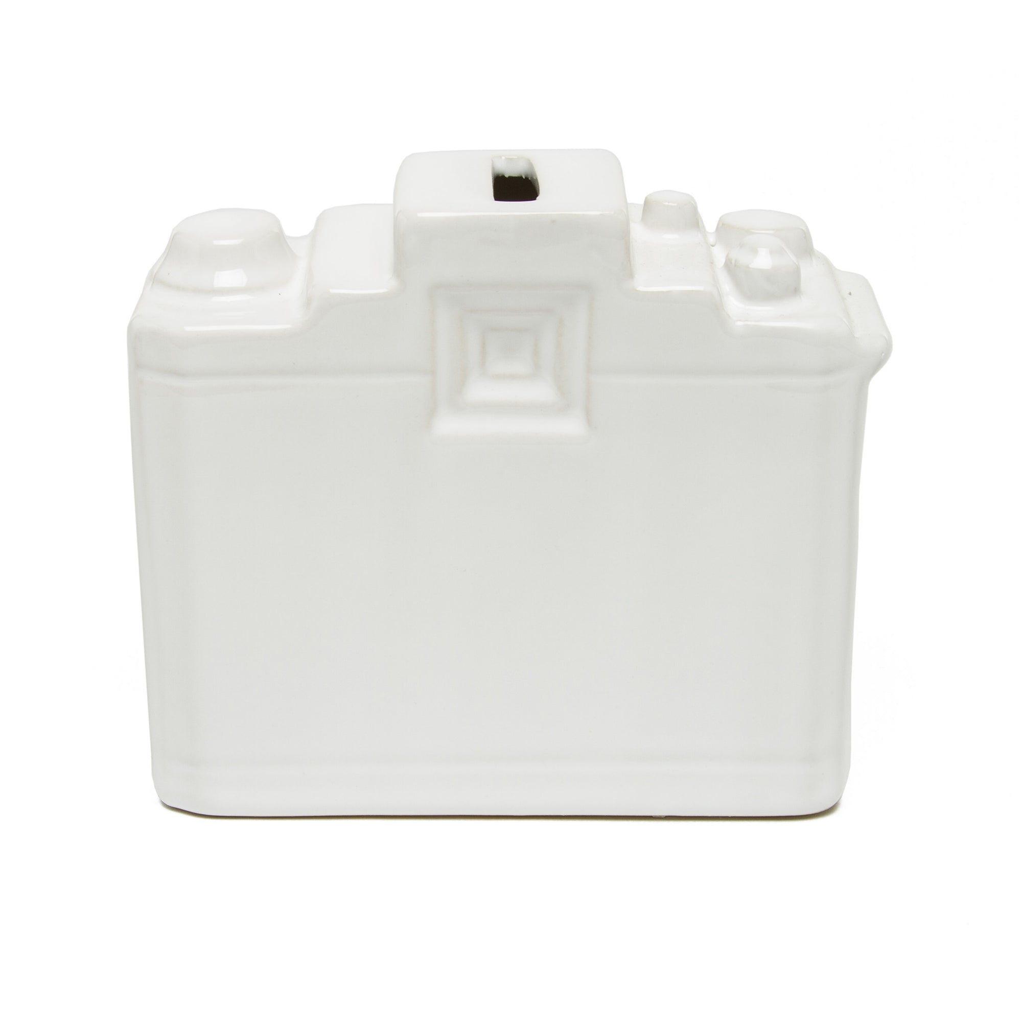 Ceramic Camera Bank- White | Getty Store