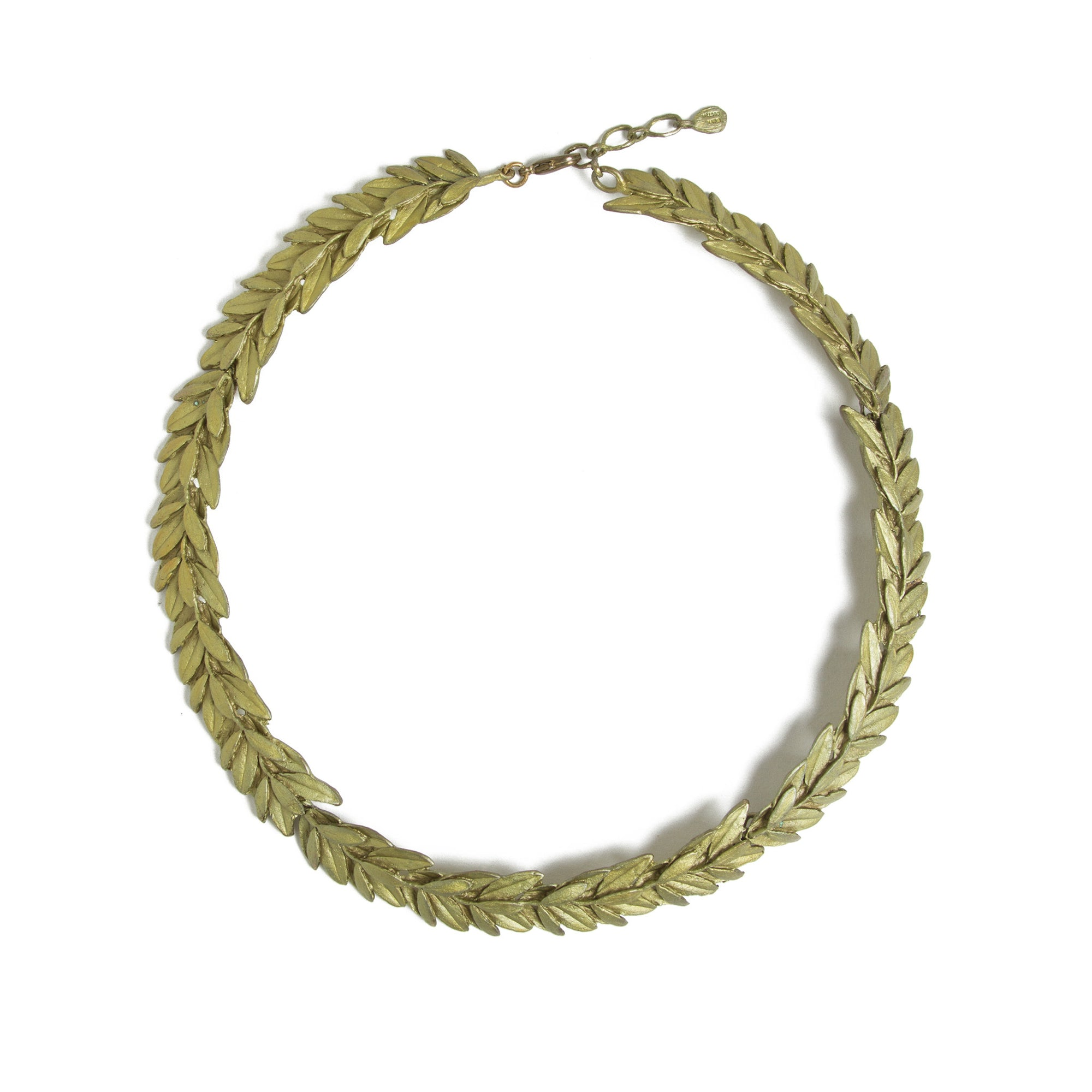 Bronze Olympic Myrtle Necklace
