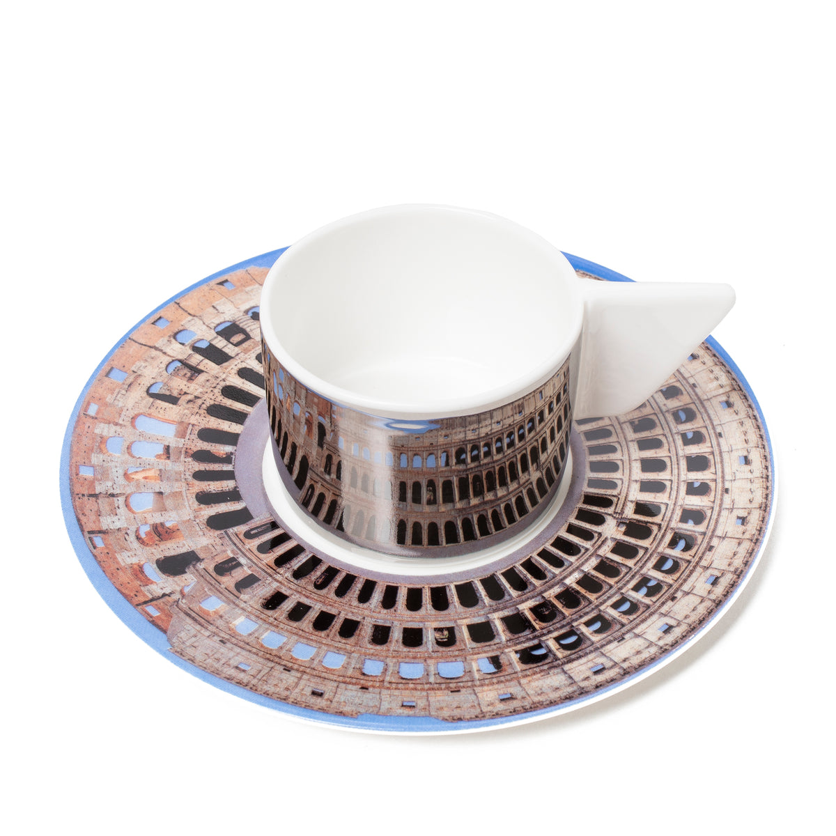 Cup & Saucer - The Colosseum