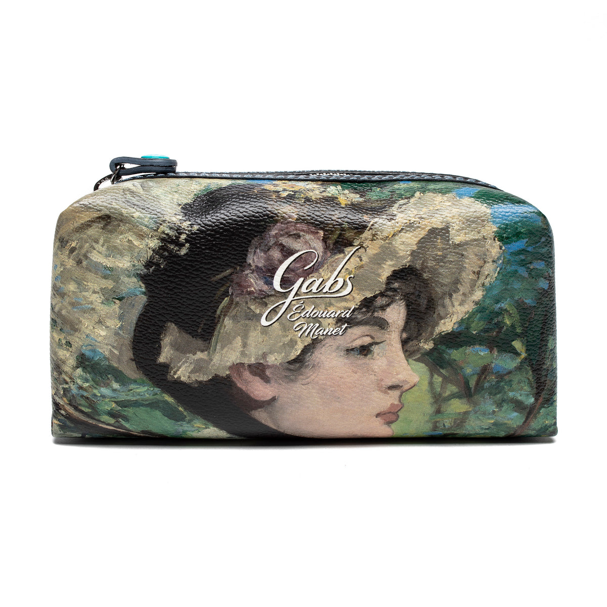 Cosmetics Bag featuring Manet's Jeanne Spring by Gabs, Italy