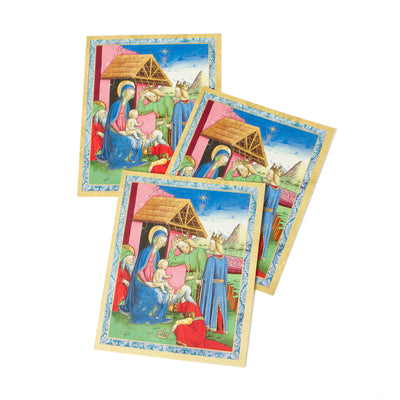 Getty Mini Boxed Christmas Cards - Adoration of the Magi