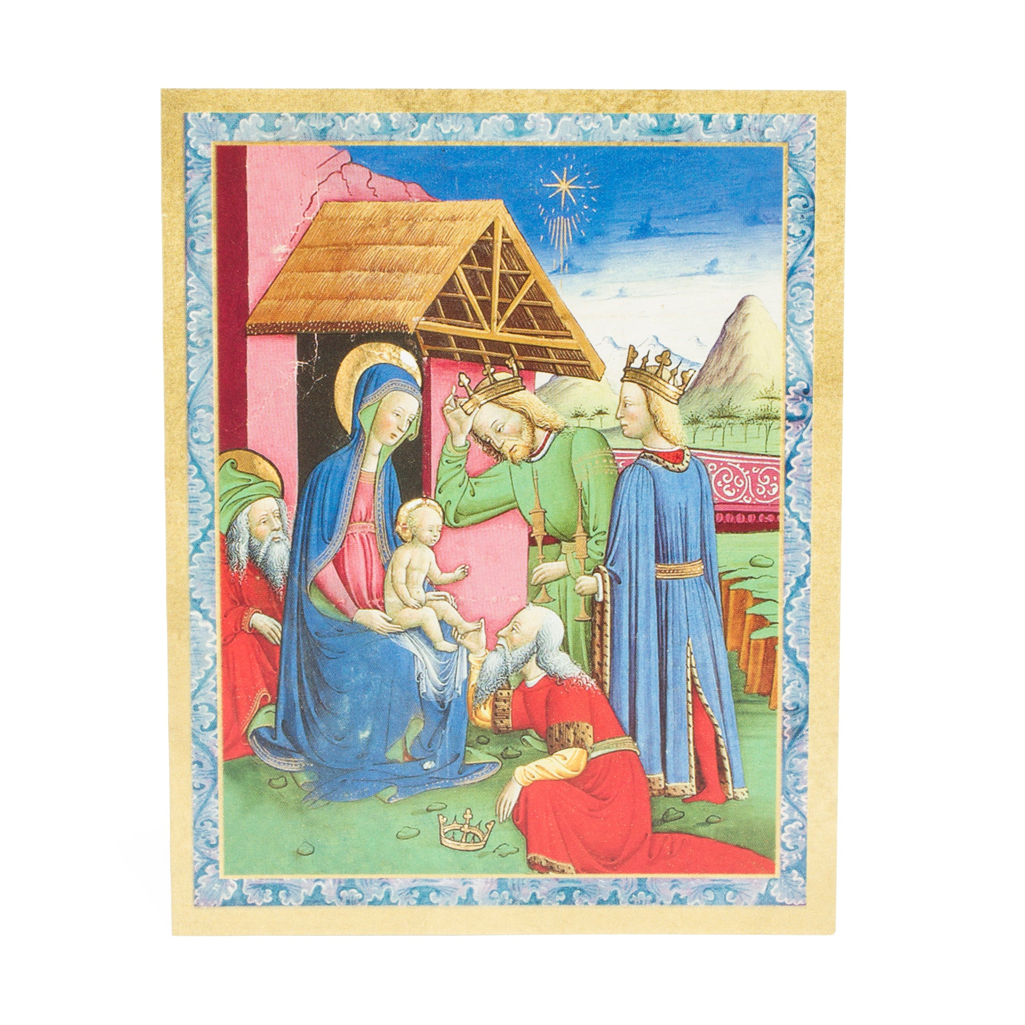 Getty Mini Boxed Christmas Cards-Adoration of the Magi | Getty Store