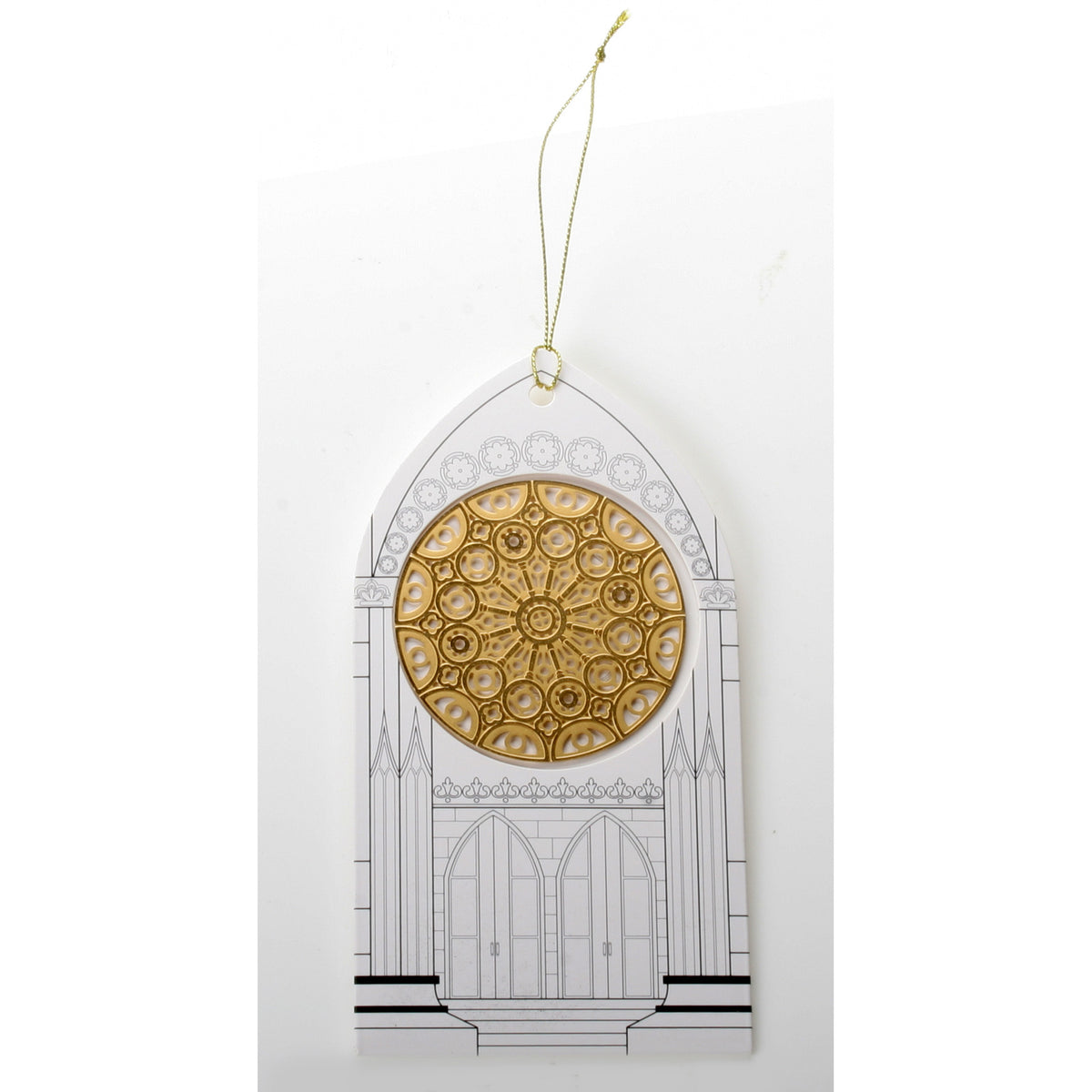 Rose Window - Chartres Cathedral Ornament