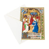 Getty Small Boxed Christmas Cards-Book of Hours- view of card with envelope | Getty Store