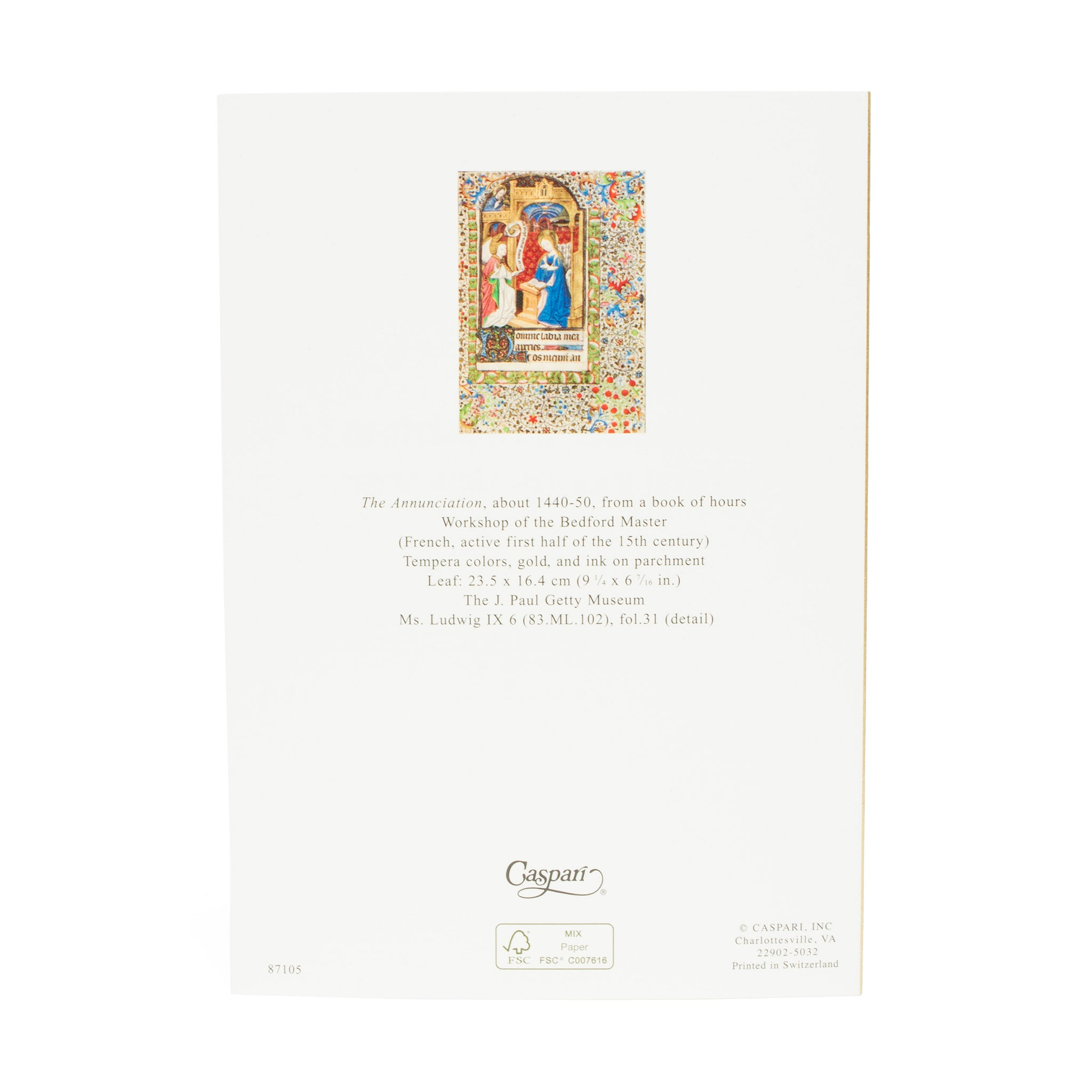 Getty Small Boxed Christmas Cards Book Of Hours The Getty Store