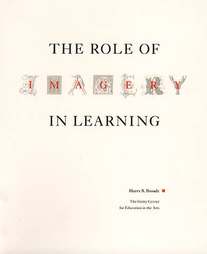 The Role of Imagery in Learning