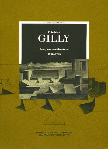 Friedrich Gilly | Getty Store