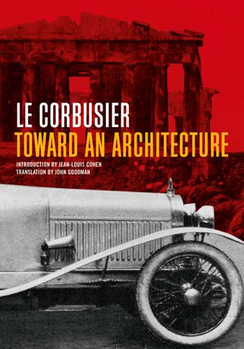 Toward an Architecture - Paperback