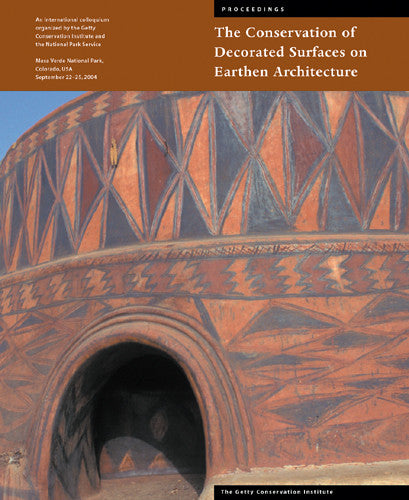 The Conservation of Decorated Surfaces on Earthen Architecture