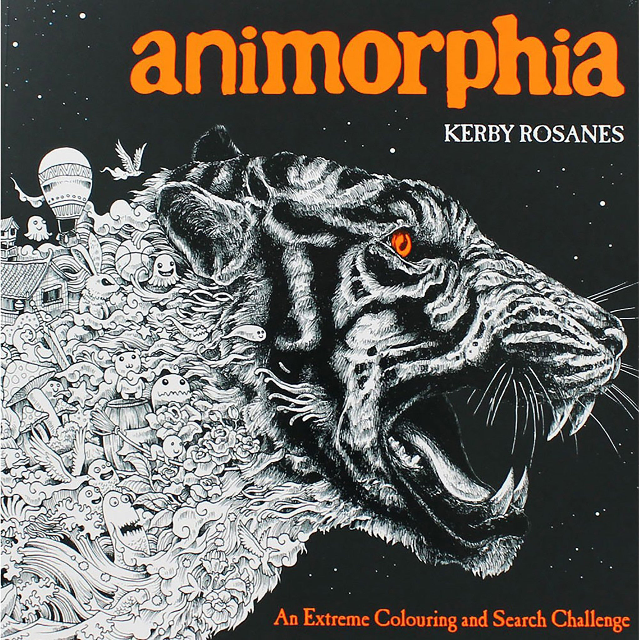 Animorphia an extreme coloring and search challenge by kerby rosanes - Animorphia An Extreme Coloring And Search Challenge
