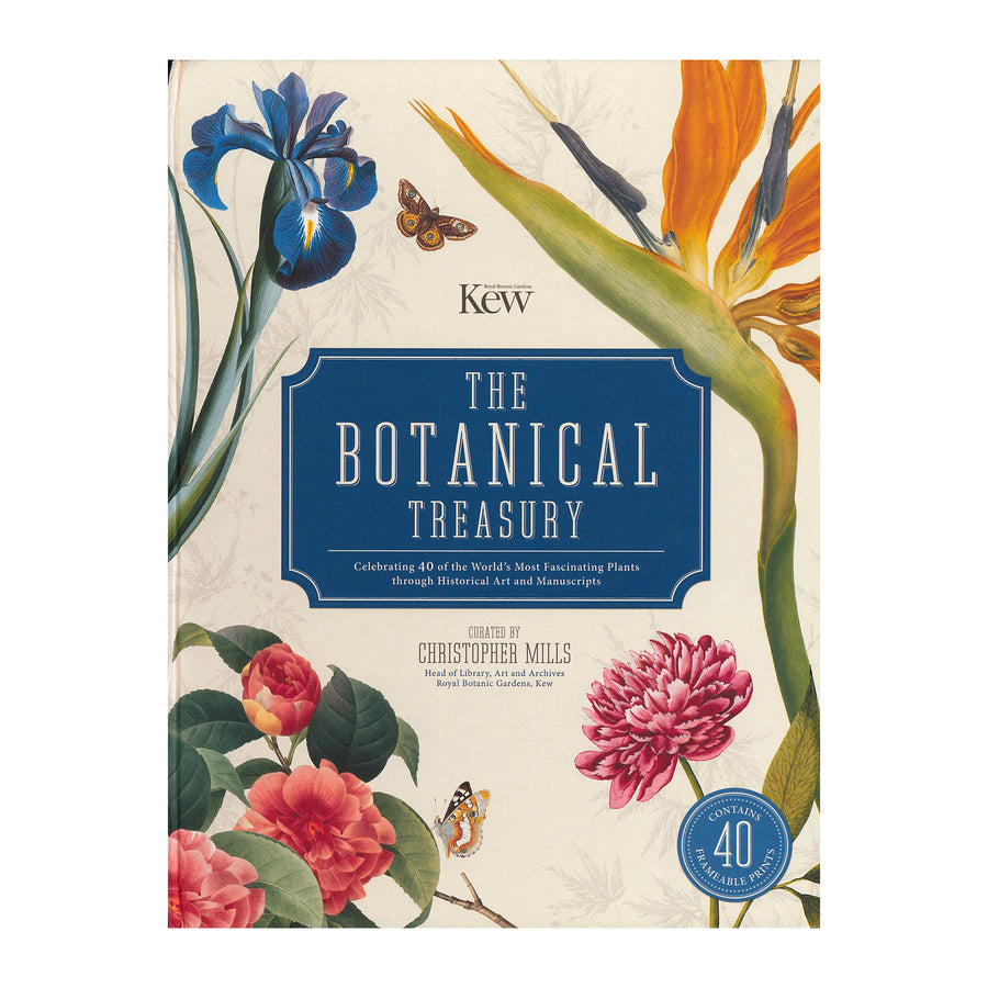 The Botanical Treasury: Celebrating 40 of the Worlds Most Fascinating Plants Through Historical Art and Manuscripts