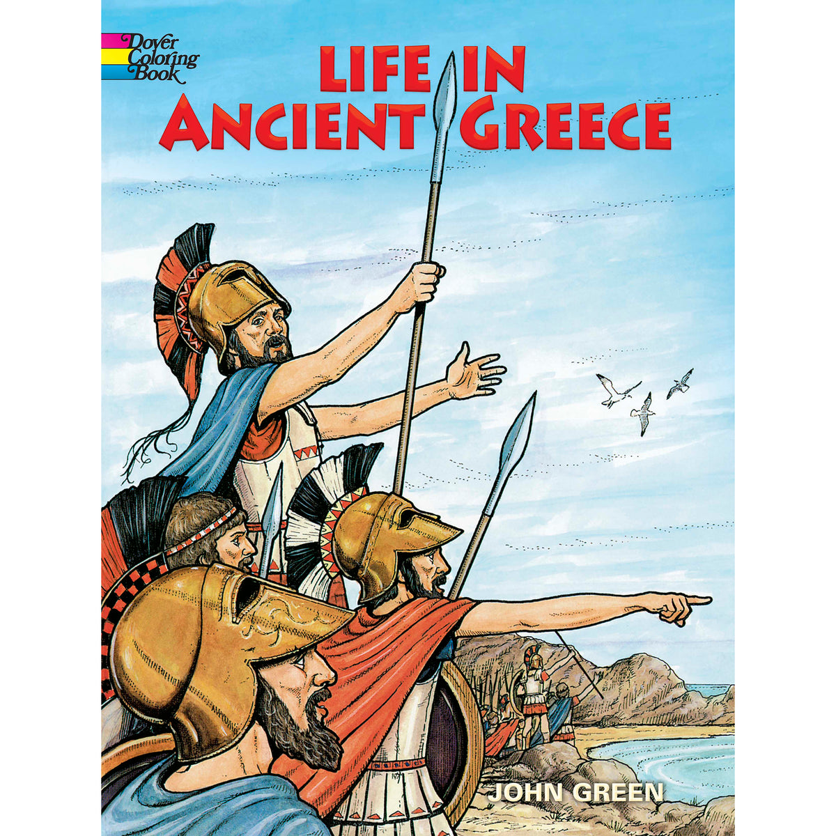Life in Ancient Greece Coloring Book | Getty Store