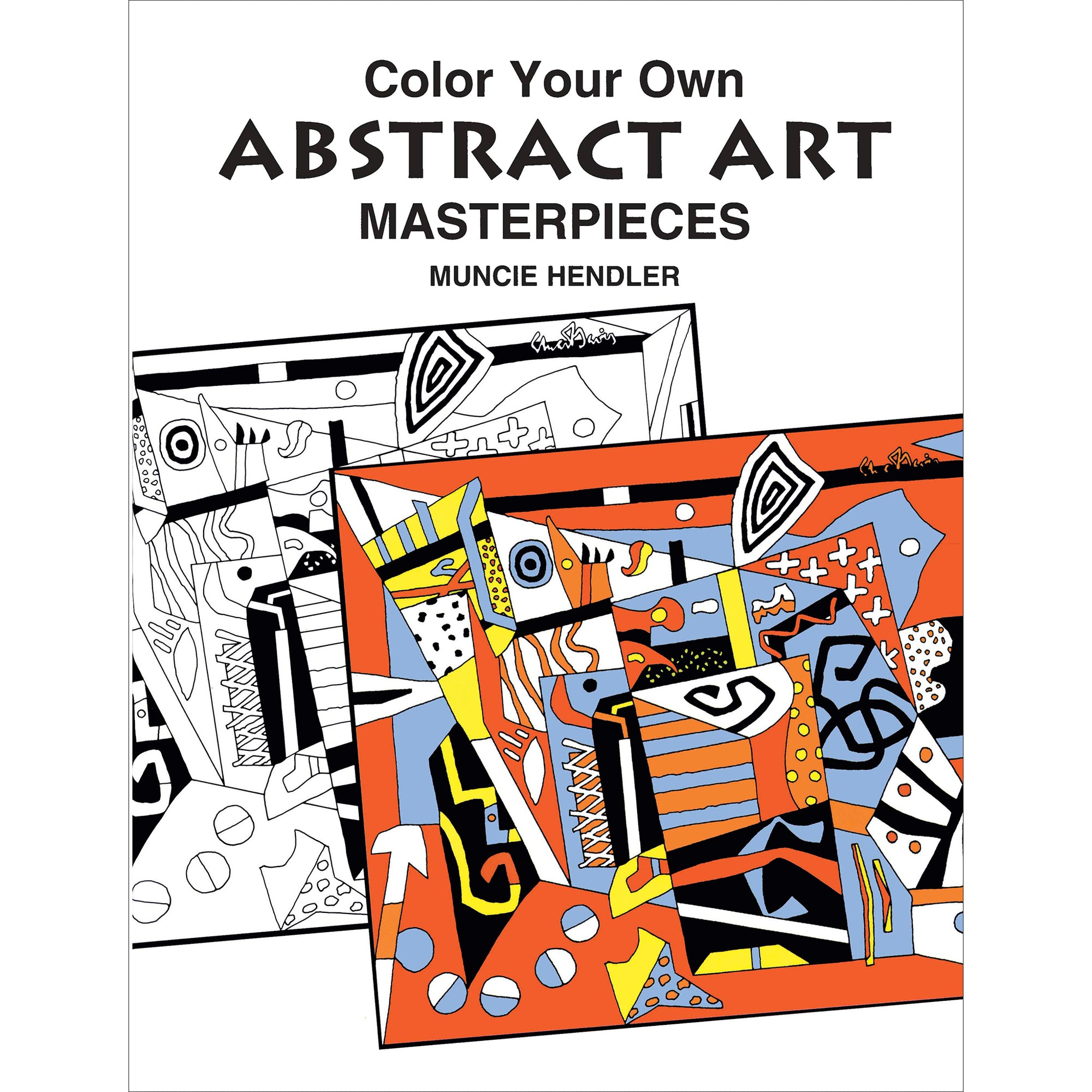 Abstract Art Masterpieces Coloring Book | Getty Store
