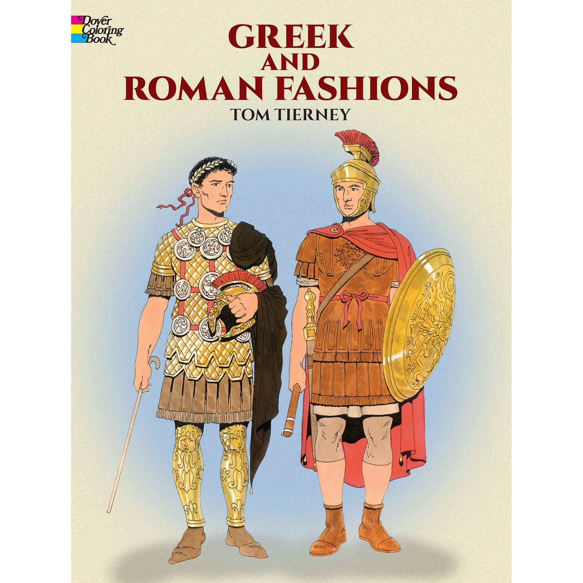 Greek and Roman Fashions Coloring Book | Getty Store