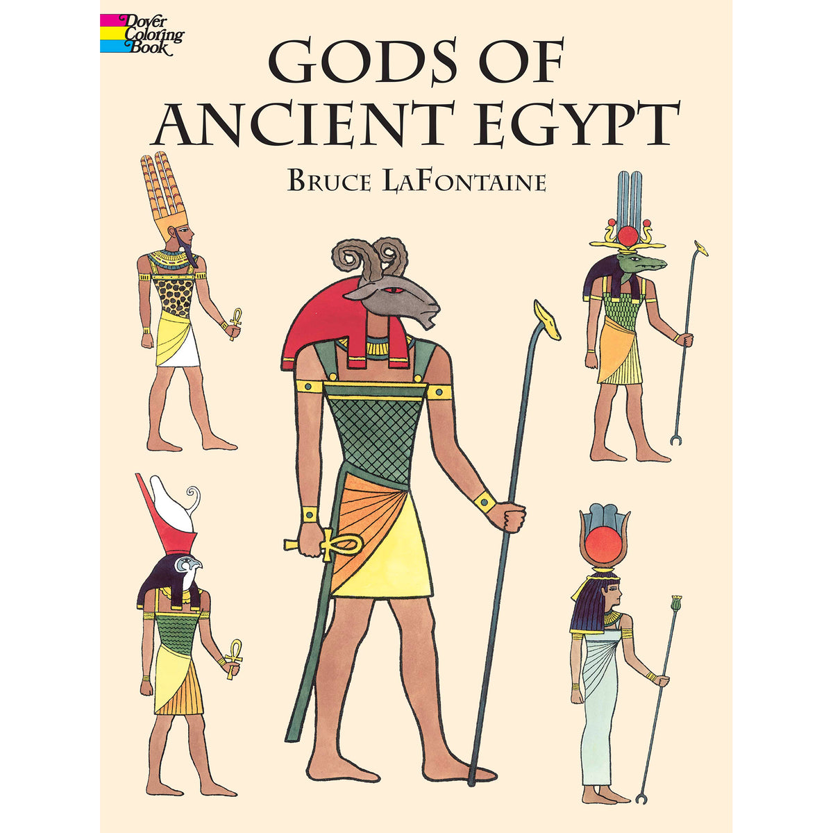 Gods of Ancient Egypt Coloring Book | Getty Store