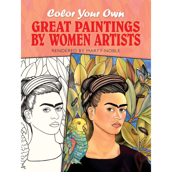 - Great Paintings By Women Artists - Coloring Book - Getty Museum Store