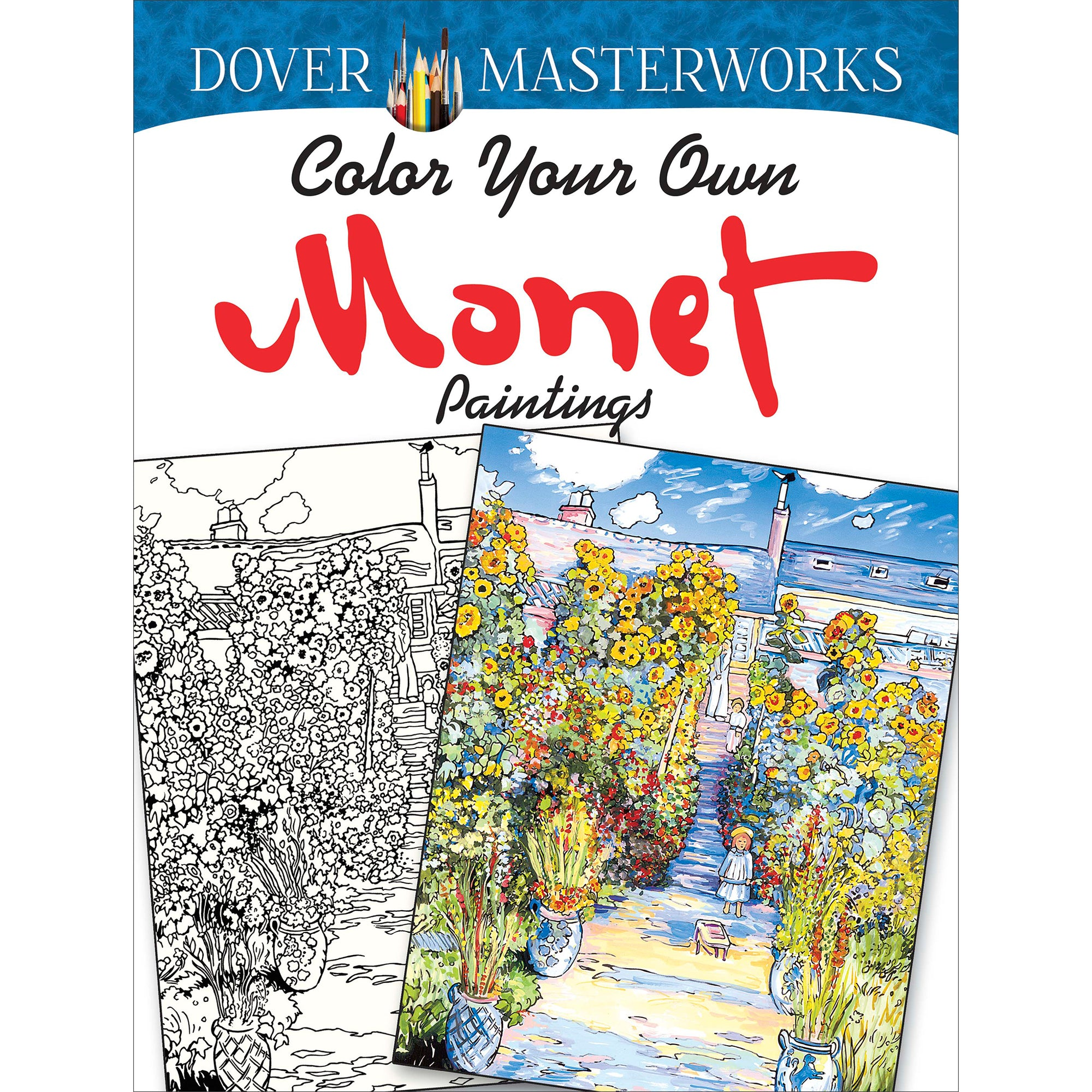 Color your own Monet Paintings -Coloring Book  | Getty Store