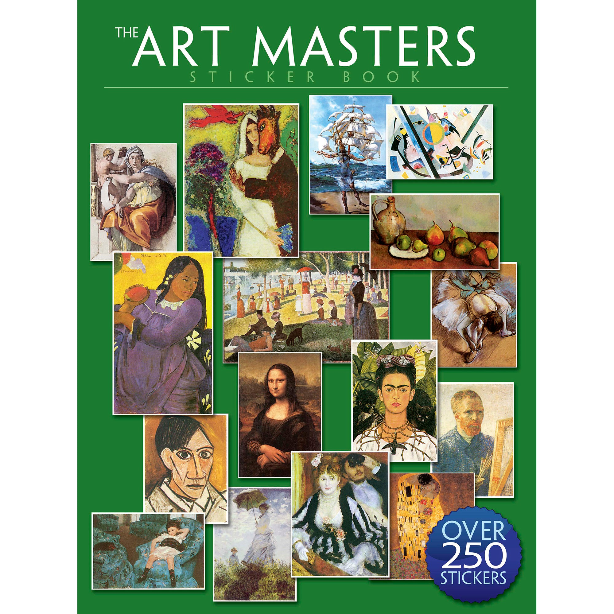 The Art Masters Sticker Book | Getty Store