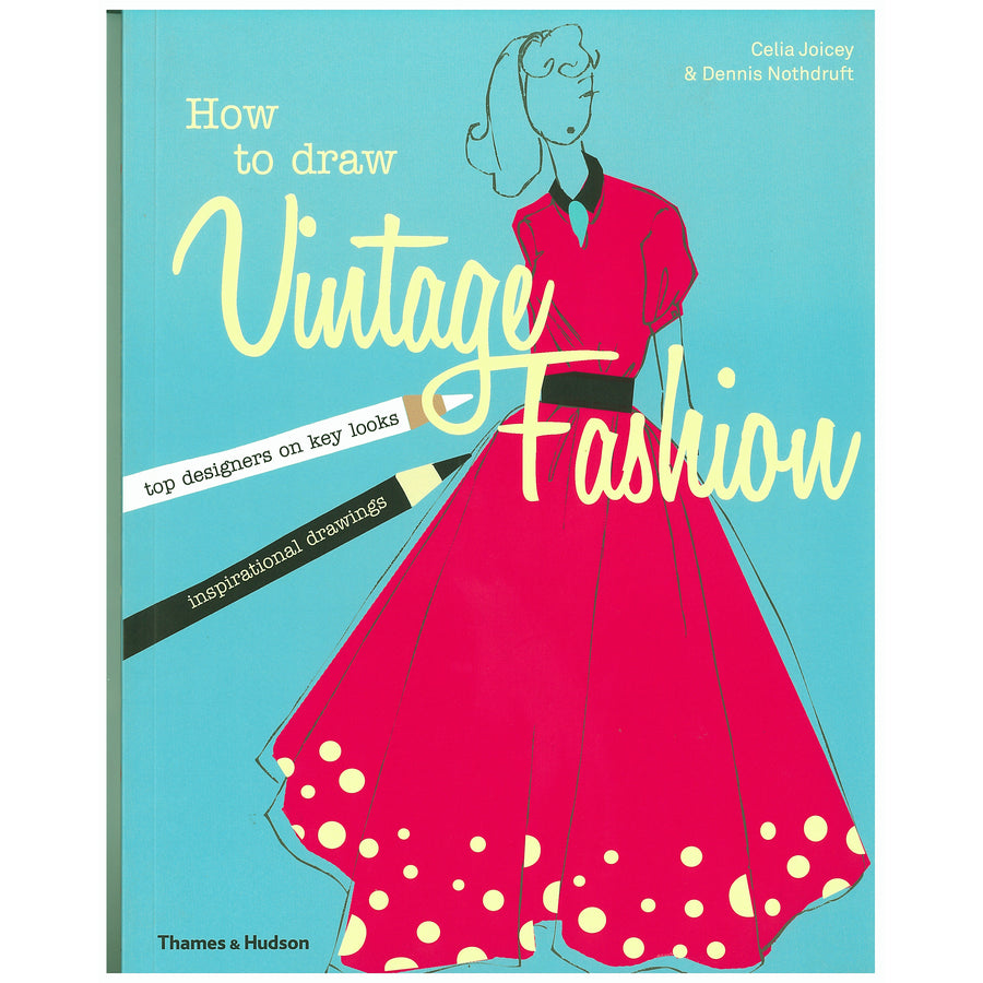 How to Draw Vintage Fashion