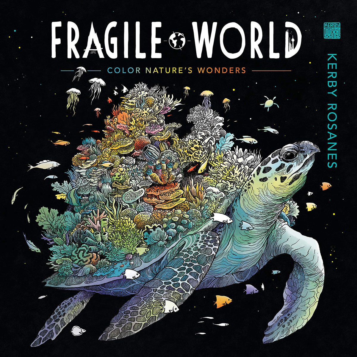 Fragile World Coloring Book