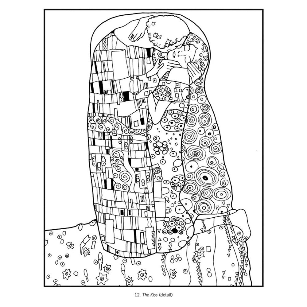 Coloring Book- Gustav Klimt | Getty Store