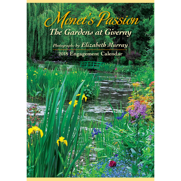 2018 Engagement Calendar - Monet's Passion