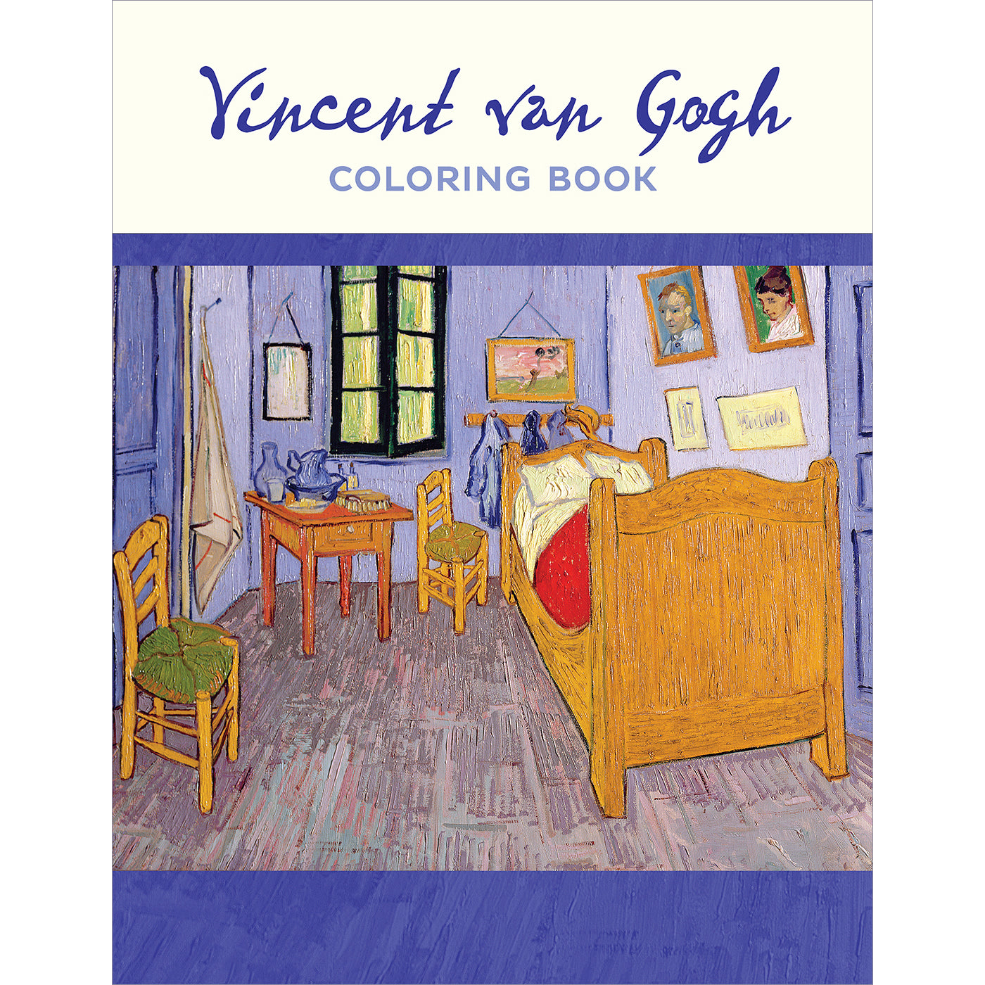 Coloring Book- Vincent Van Gogh | Getty Store