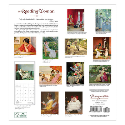 2020 Wall Calendar - The Reading Woman