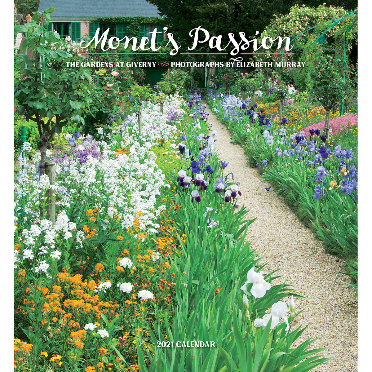 2021 Wall Calendar - Monet's Passion: The Gardens at Giverny
