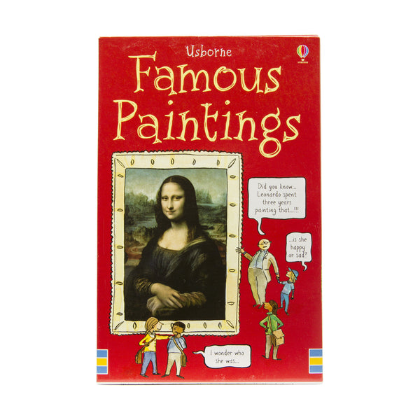 Activity Cards Famous Paintings